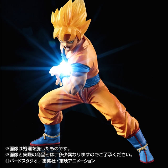 Crunchyroll New Quot Dragon Ball Z Quot Goku Figures With