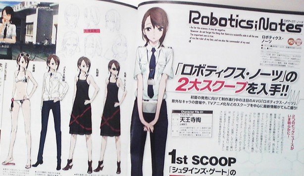 Crunchyroll Steins Gate Character Grows Up In Robotics Notes