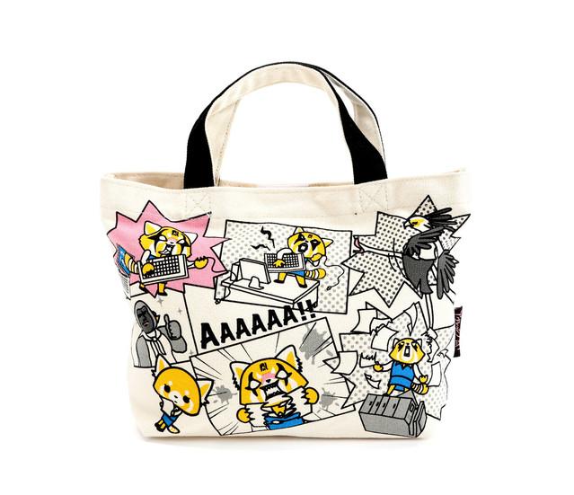 Aggretsuko Tote Bag Rage /& Calm
