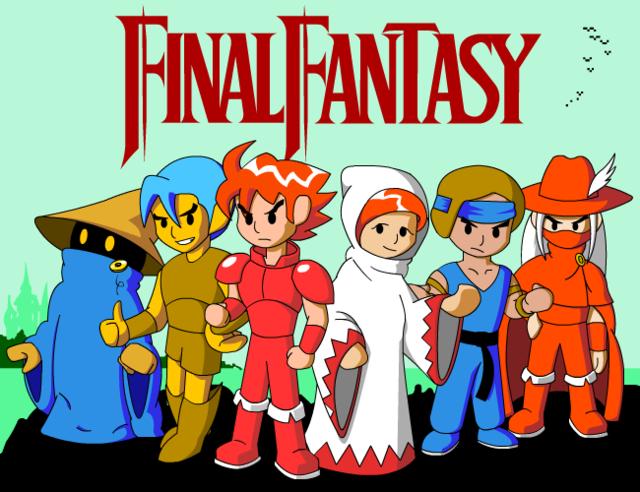 Crunchyroll - FEATURE: Fanart Friday, Final Fantasy Edition