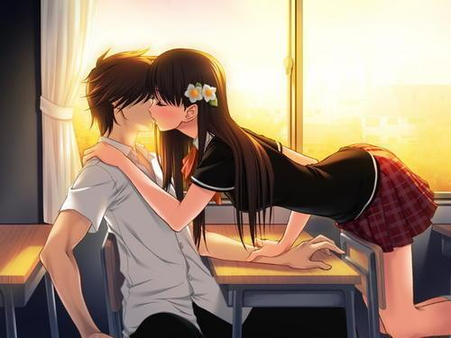 crunchyroll - forum - cutest    romantic picture of an anime couple