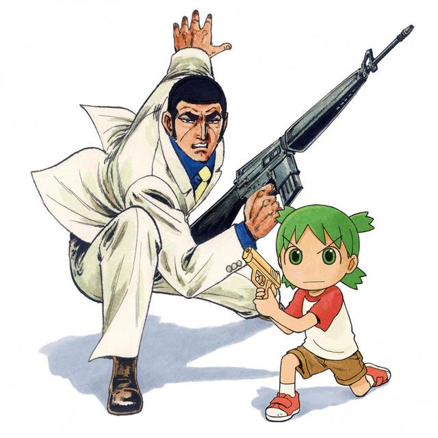 Golgo 13 And Yotsuba Team Up To Promote Oita