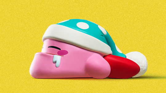 crunchyroll new gashapon line brings you kirby with a chin
