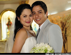Wedding Hairstyle Judy  Santos on Celebrity Couple Judy Ann Santos And Ryan Agoncillo Finally Tied The