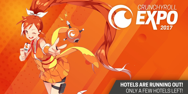 It Will Be The Deadline For Receiving An Exclusive Crunchyroll Expo Welcome Bag Booking A