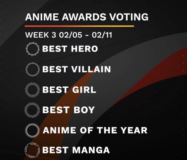 anime awards week 3