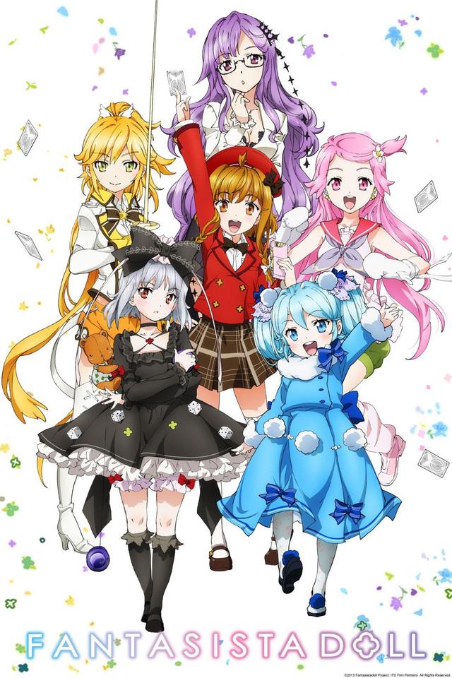 Crunchyroll - Fantasista Doll Full episodes streaming ...