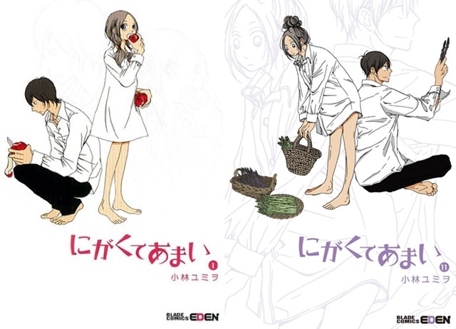 Manga 1st And 11th Volume Covers