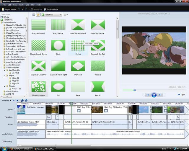 crunchyroll groups amvm anime music video makers