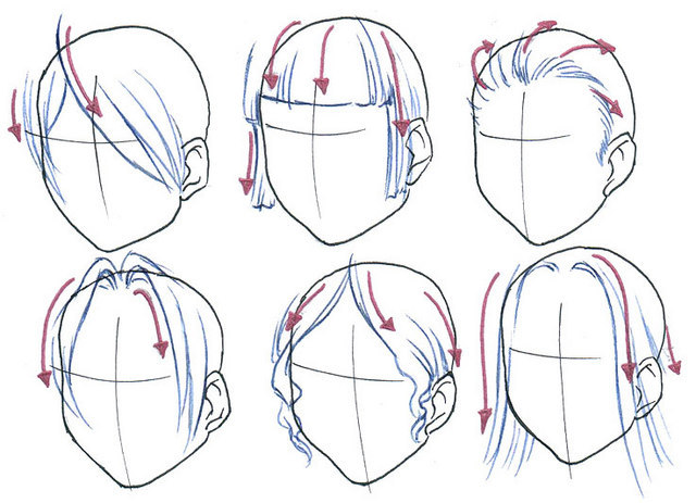 Line Drawing Hair : Crunchyroll groups drawing paradise