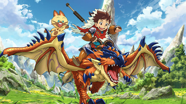 Anime Characters Monster Hunter World : Crunchyroll quot monster hunter stories tv anime announced