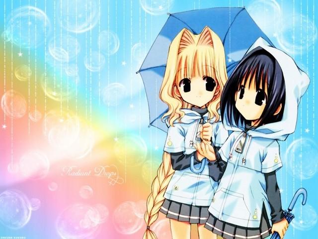 anime girl wallpaper border -#main