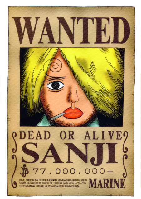 Crunchyroll - Library - One piece Wanted posters