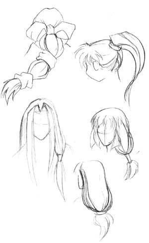 Crunchyroll Groups Anime Fanart - Different hair style drawing