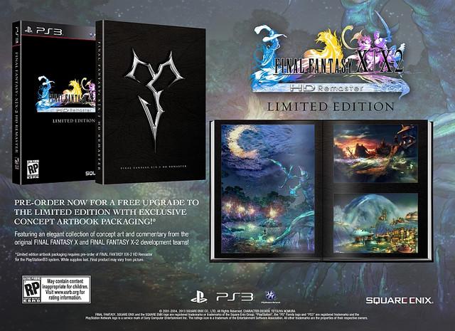 FINAL FANTASY X-X-2 HD Remaster Limited Edition