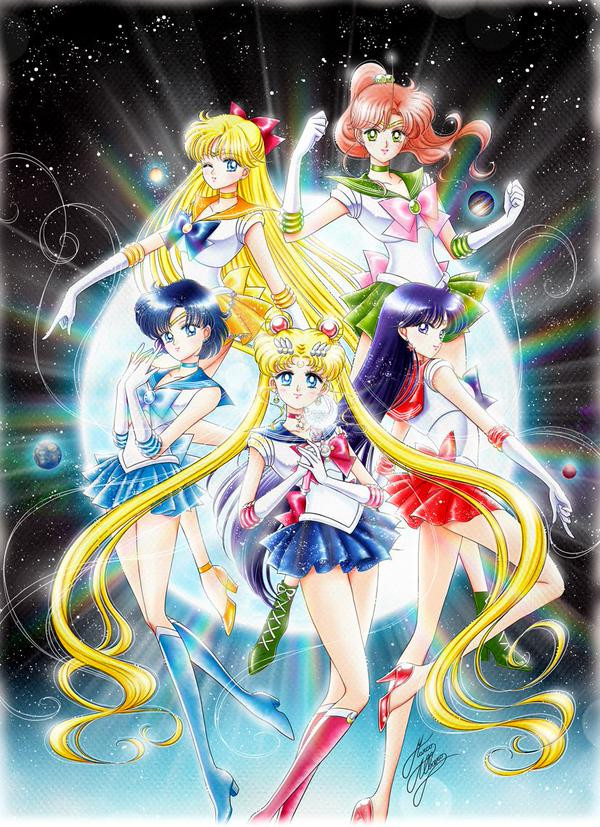 Sailor moon video porno