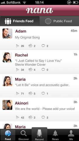 Nana app screenshot 2