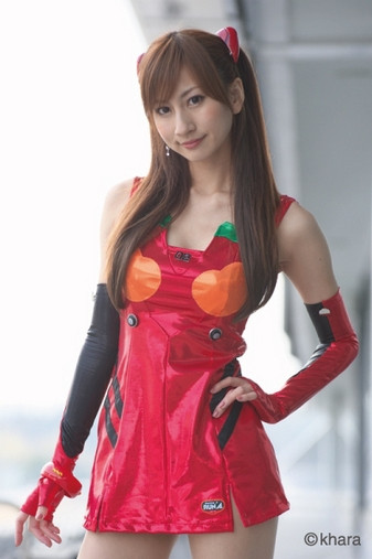 Crunchyroll - Meet the 2013 Evangelion Race Queens!
