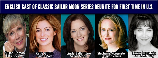 Sailor Moon English cast