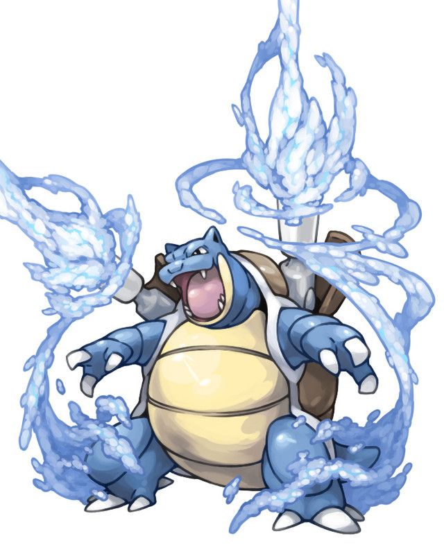 What moves does Blastoise learn on fire red - answers.com