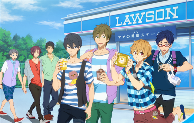 In The Meantime, The Grown Up Swimming Boys Are Currently Promoting  Japanese Convenience Store Chain, Lawson For The Second Time To Follow Up  Their ...