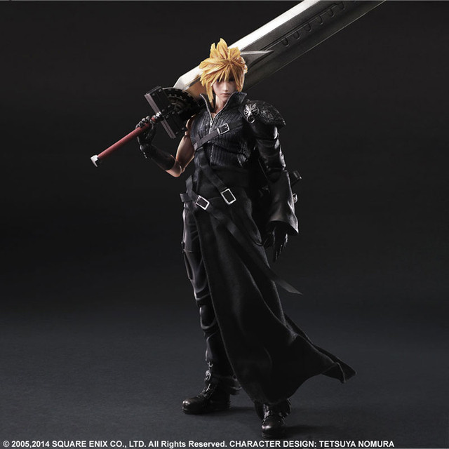 "Crunchyroll - Play Arts Kai ""Final Fantasy VII Advent ... - photo#50"