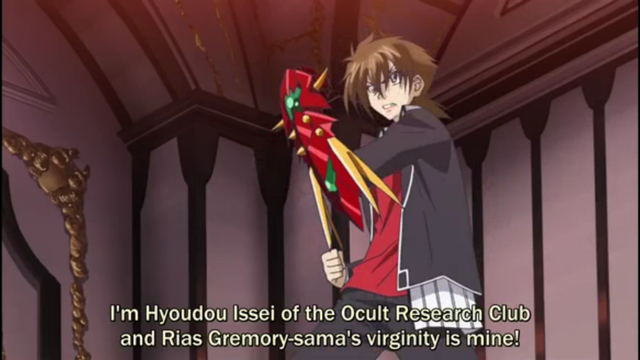 Issei being alpha