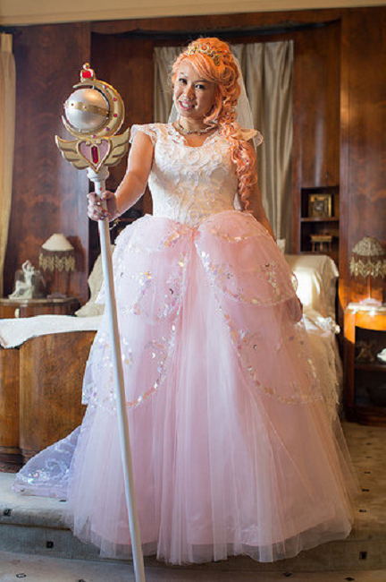 """Crunchyroll - This """"Sailor Moon"""" Wedding Will Blow Your Mind"""