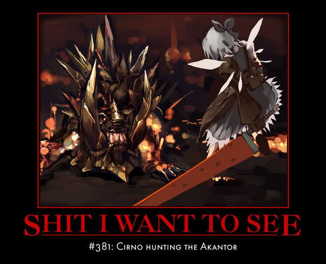 monster hunter motivational memes