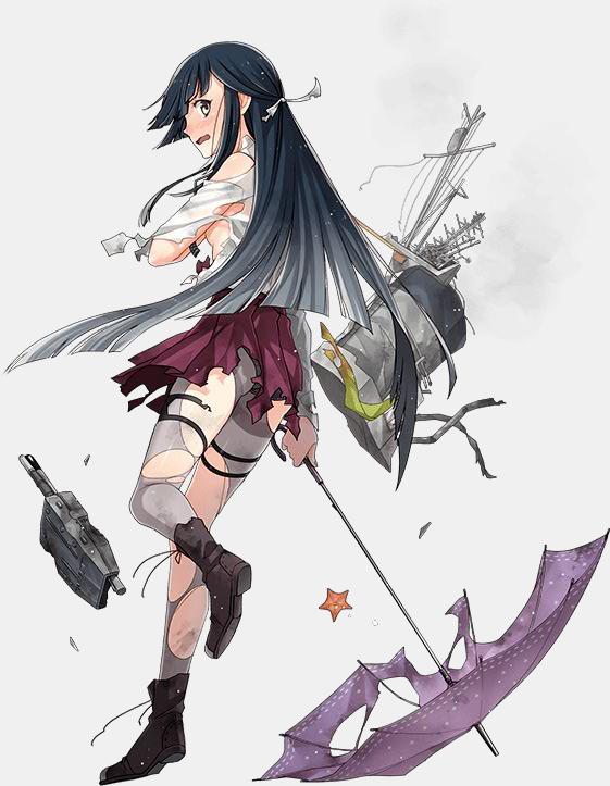 Crunchyroll Kancolle Ship Girls Suit Up For Rainy Season