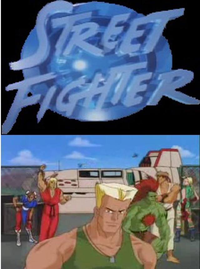 Street Fighter: USA Network Series