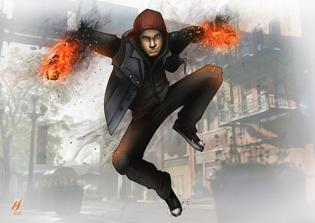 фото infamous second son на аватарку