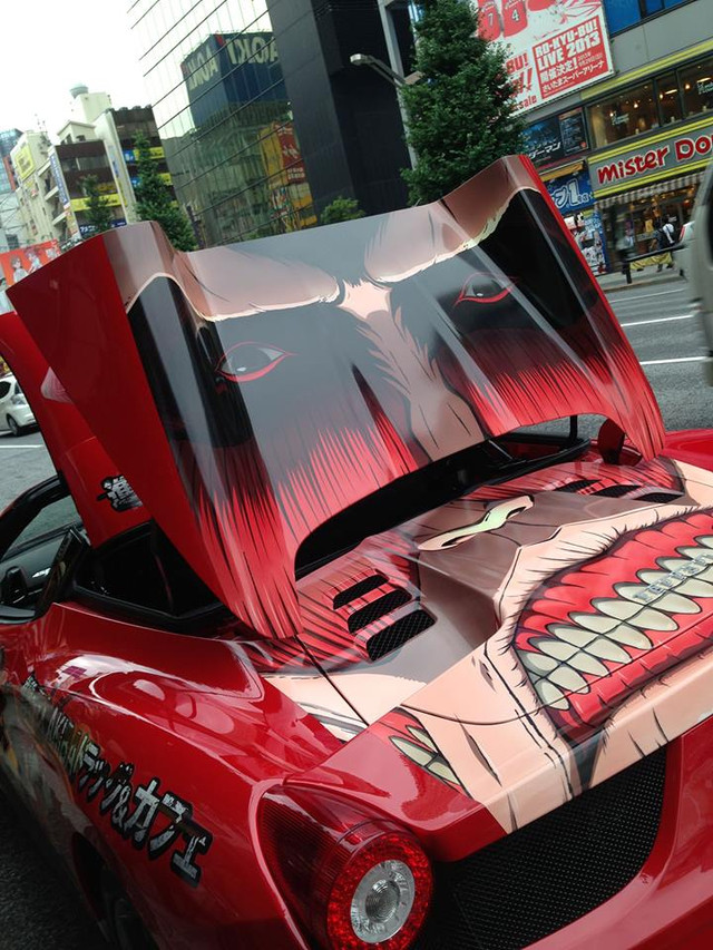 Attack on Titan itasha