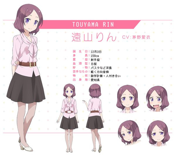 Anime Characters Named Rin : Crunchyroll quot new game anime featured in visual