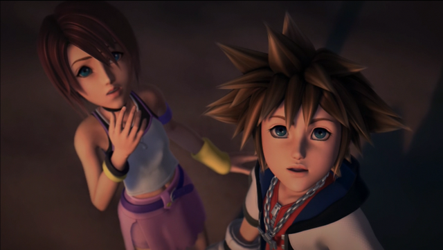 Image result for kingdom hearts cutscene