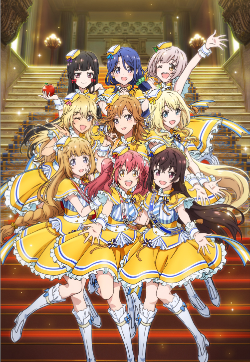 Represented By Idols In Winters Politics Musical Anime Idol Jihen Nine Of These Sing The Animes Theme And Are Featured A New Visual