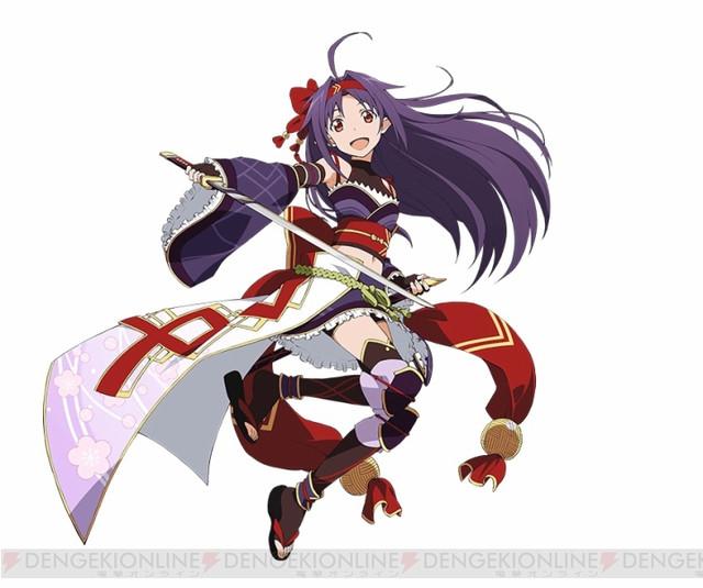 """Sword Art Online"" Smartphone Game Gives Girls Samurai Redesigns"