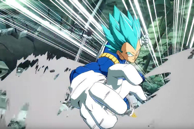 SSGSS Vegeta Joins the Fight in Dragon Ball FighterZ