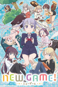 NEW GAME! is a featured show.
