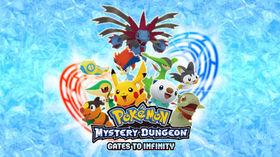Pokemon Mystery: Dungeon Gates to Infinity