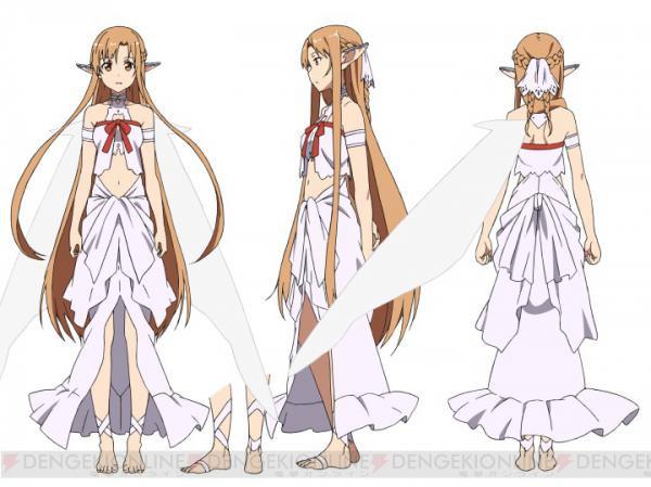 Crunchyroll Sword Art Online Fairy Dance Arc Character Designs Revealed