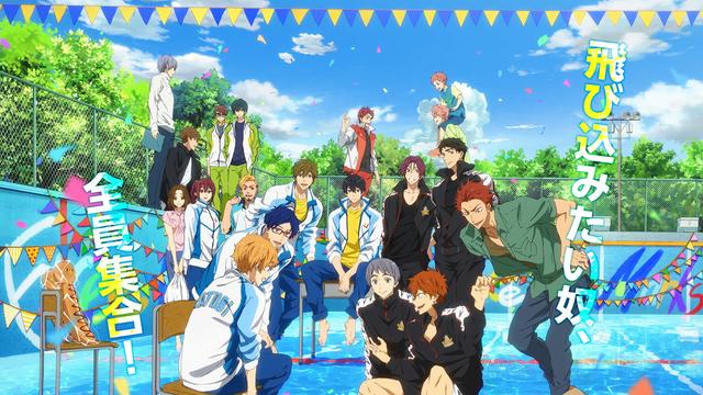 crunchyroll swimming anime comes to us big screen in free take