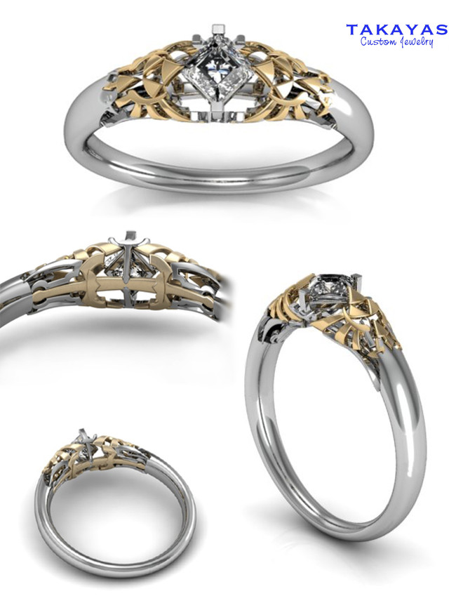 Dragon Wedding Rings 84 Ideal The rings are white