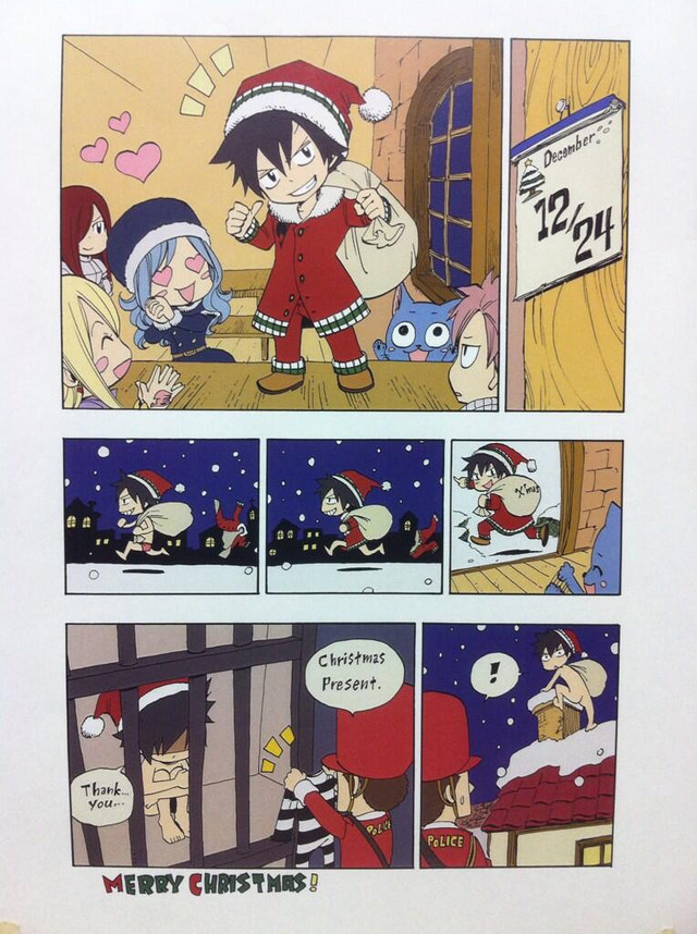 Crunchyroll Fairy Tail Author Presents Special English Christmas