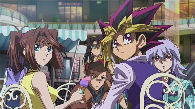 crunchyroll yu gi oh the dark side of dimensions anime film