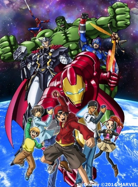 Phim Marvel Disk Wars: The Avengers - Marvel Disk Wars: The Avengers - VietSub