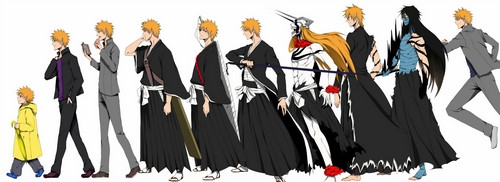 Ichigo Has Had Over Ten Different Looks The Course Of Series