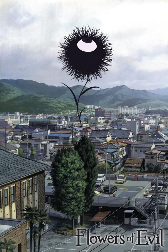 Картинки аниме цветы зла 6