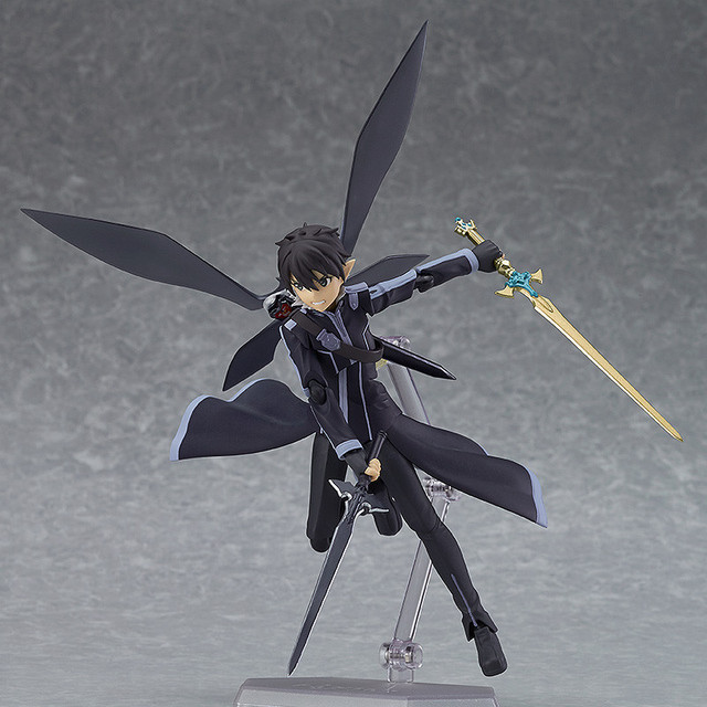 Crunchyroll Quot Sword Art Online Quot Kirito Alo Ver Figma And Silica With Pina Scale Figure Go On Sale