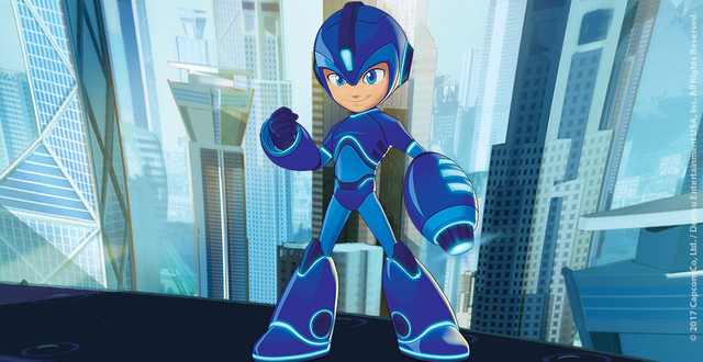 New Mega Man Animated Series Announced